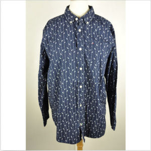 Tommy Hilfiger buttons down shirt sz XL